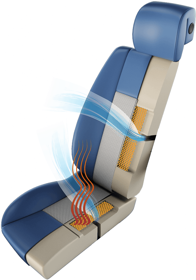 Katzkin Degreez Heated and Air-Conditioned Leather Seat