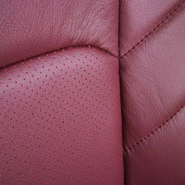 Katzkin Ford F150 Leather Seat Closeup 3
