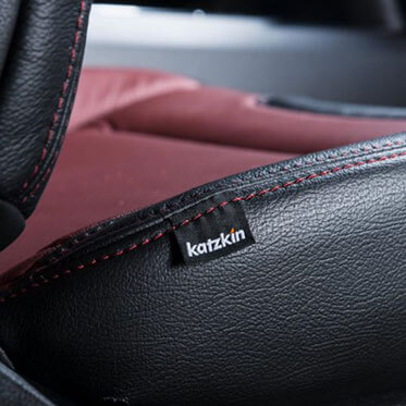 Katzkin Ford F150 Leather Seat Closeup