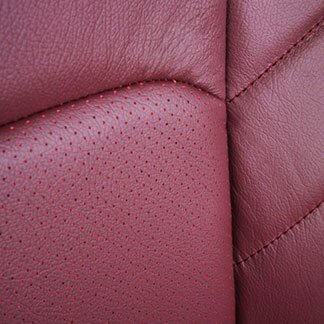 Katzkin Ford F-150 Perforated Red Leather Seat