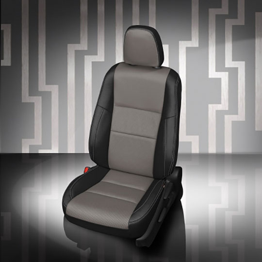 Toyota Rav4 Leather Seat with Black Ash center Silver