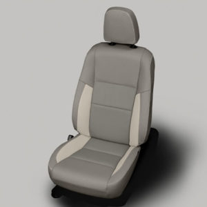 Rav4 grey with white accent leather seat