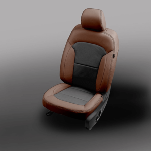 Ford Explorer Brown with Black Leather Seats