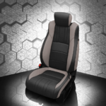 Honda Accord Black & Grey Leather Seat