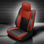 Jeep Grand Cherokee Red & Black Leather Seats