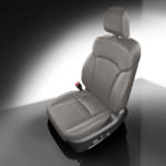 Subaru Forester Grey Leather Seat