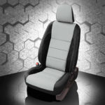 Toyota Corolla Beige and Black Leather Seat