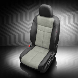 Nissan Murano gray leather seats