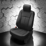 Ford Expedition Black Leather Seat