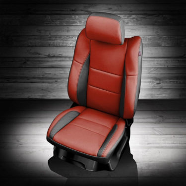 Dodge Durango Red Leather Seats
