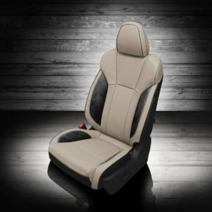 Two Tone Subaru Ascent Leather Seat Covers