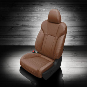 Brown Subaru Ascent Leather Seat Covers
