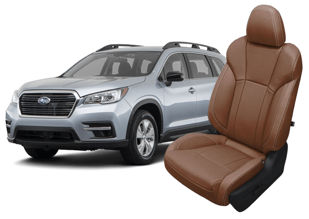 Subaru Ascent and Brown Leather Seats