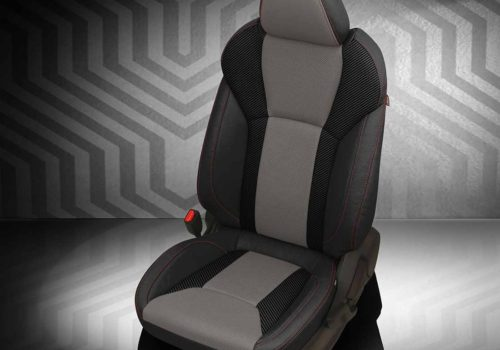 Subaru Crosstrek Black and Gray Leather Seats
