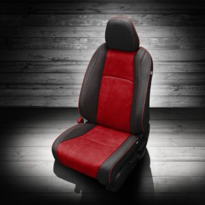 Honda HR-V Black and Red Leather Seats