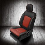 Dodge Journey Black and Red Leather Seats