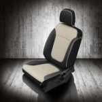 Dodge Journey Black and White Leather Seats