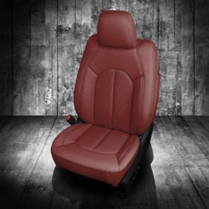 Chrysler Pacifica Red Leather Seats