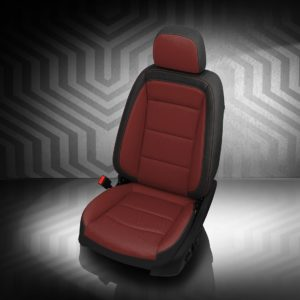 GMC Terrain Red and Black Leather Seats