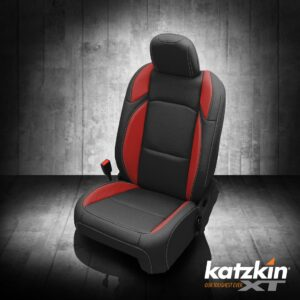 Red and Black Jeep Gladiator Seat Covers