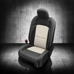 Black and White Jeep Gladiator Seat Covers