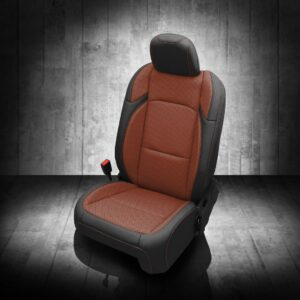 Brown and Black Jeep Gladiator Seat Covers