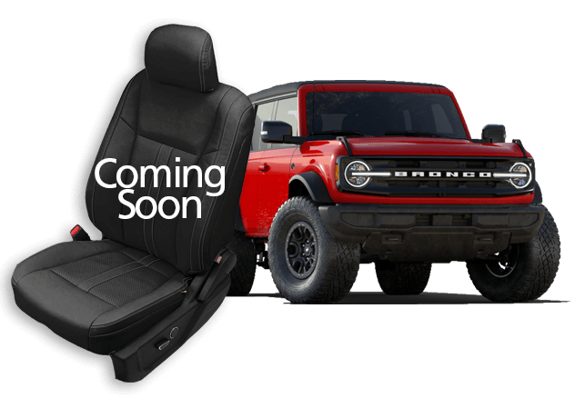 Ford Bronco leather seats