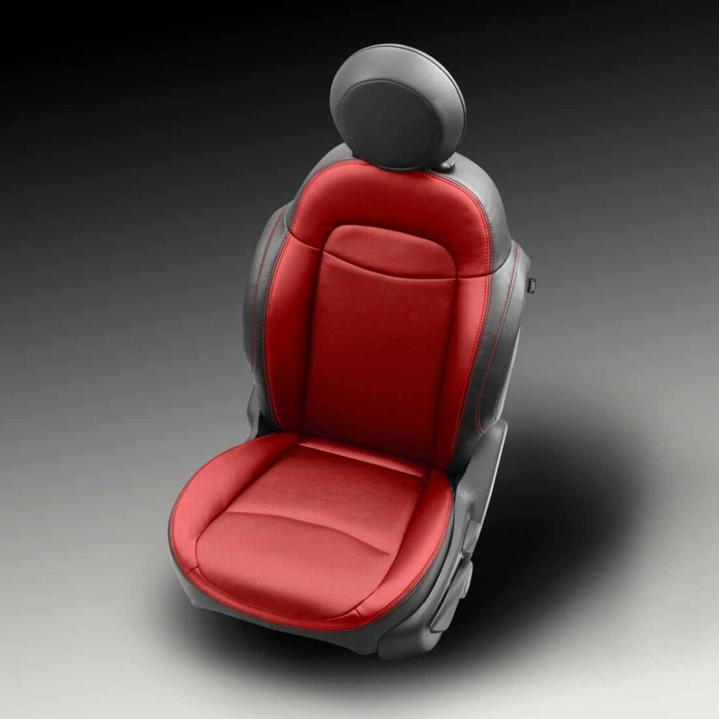 Two Tone Fiat 500X Leather Seats