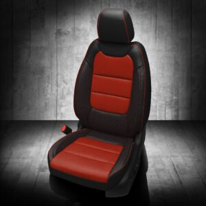 Chevy Trailblazer Red and Black Leather Seats