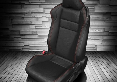 Black Toyota 86 Leather Seats