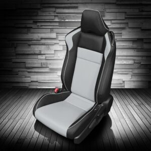 Black and Gray Toyota 86 Leather Seats