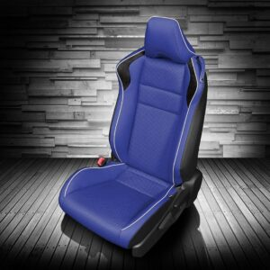 Blue Toyota 86 Leather Seats
