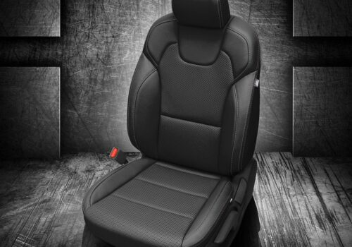Black Kia Telluride Leather Seats