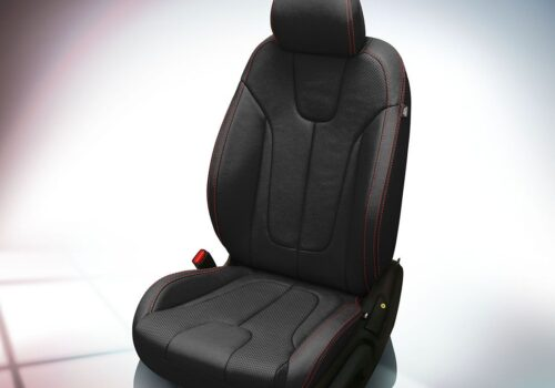 Black Hyundai Veloster Leather Seats