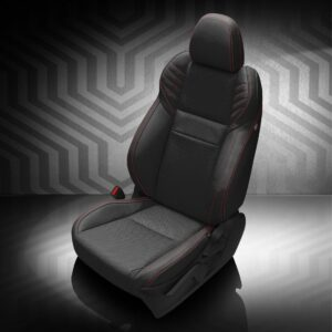 Black Subaru WRX Leather Seats