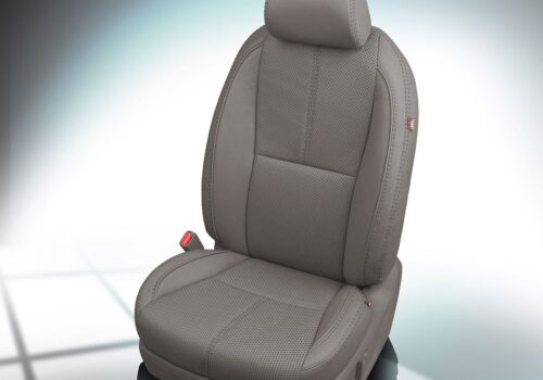 Gray Kia Sedona Leather Seats