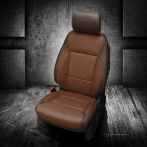 Ford F-150 Brown Leather Trim