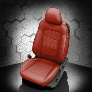 Ford Mustang Red Leather Seats