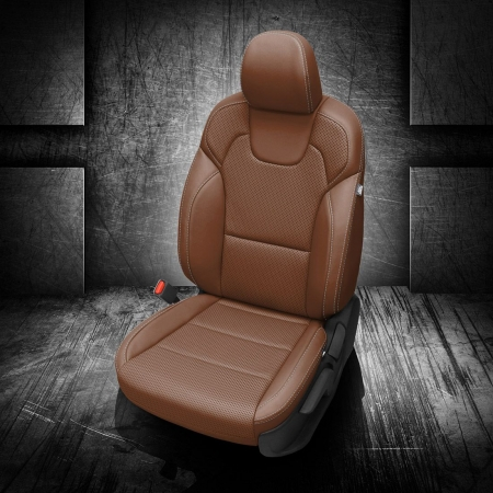 Telluride Brown Leather Seats