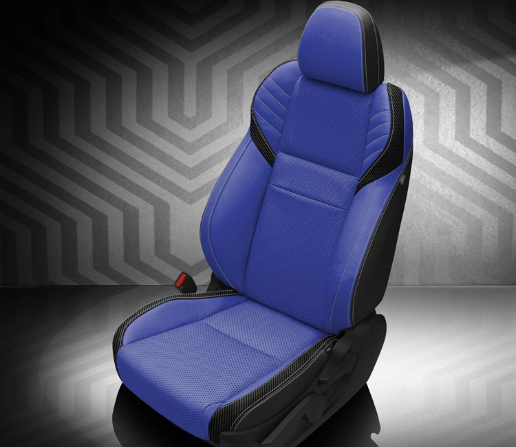 2021 Blue Leather Seats