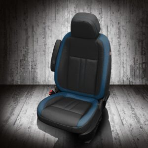 Black and Blue Buick Encore Leather Seats