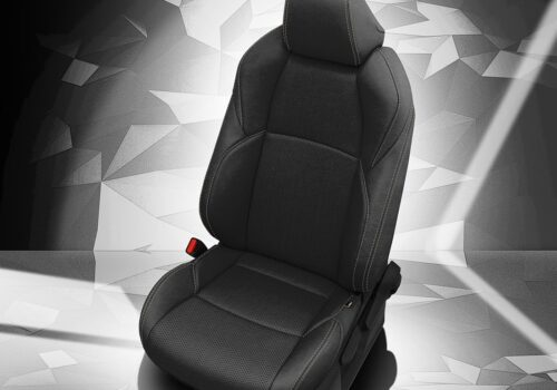 Black Toyota Venza Leather Seats