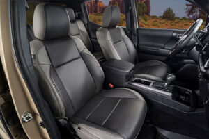 Tacoma After Leather Seats