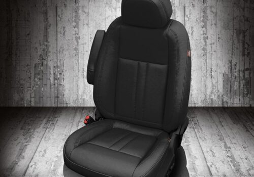 Buick black leather seats