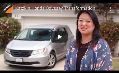 Katzkin Honda Odyssey Transformation Video