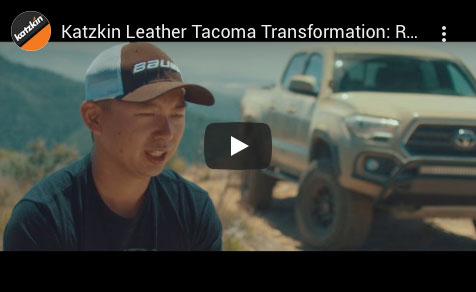 Katzkin Leather Tacoma Transformation Video